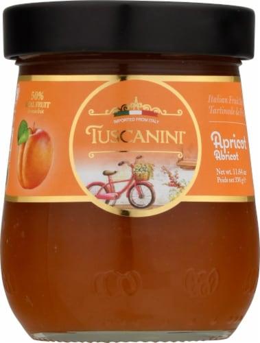 Tuscanini Apricot Italian Fruit Spread Perspective: front