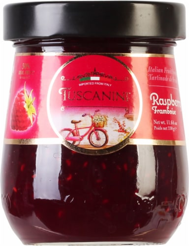 Tuscanini Raspberry Italian Fruit Spread Perspective: front
