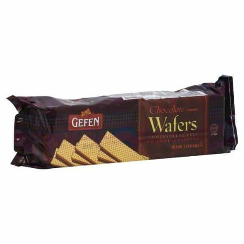 Gefen Chocolate Wafers Perspective: front