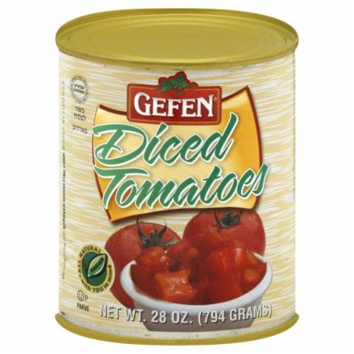 Gefen Diced Tomatoes Perspective: front