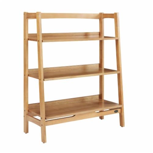 Crosley Landon Tall Bookcase - Acorn Perspective: front