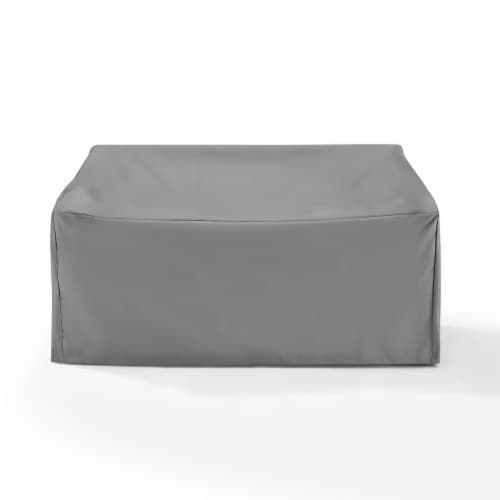 Outdoor Loveseat Furniture Cover Perspective: front
