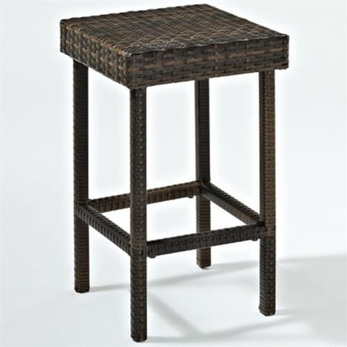 """Palm Harbor Patio Wicker 24"""""""" Counter Height Stool (Set of 2) - Crosley Perspective: front"""