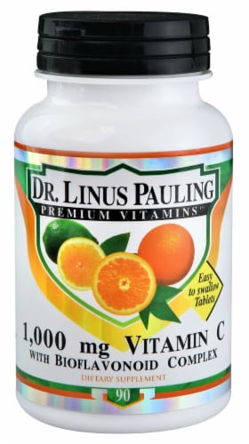 Dr. Linus Pauling  Vitamin C with Bioflavonoid Complex Perspective: front
