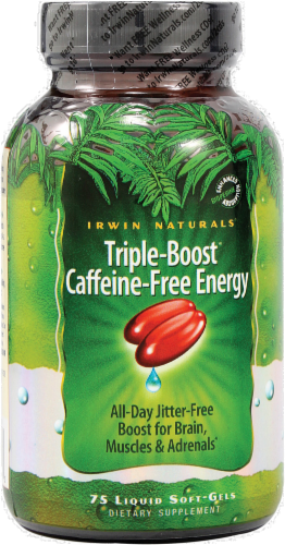 Irwin Naturals Triple-Boost Energy Supplement Perspective: front