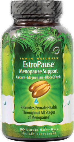 Irwin Naturals EstroPause Menopause Support Perspective: front