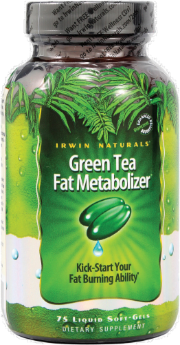 Irwin Naturals Green Tea Fat Metabolizer Perspective: front