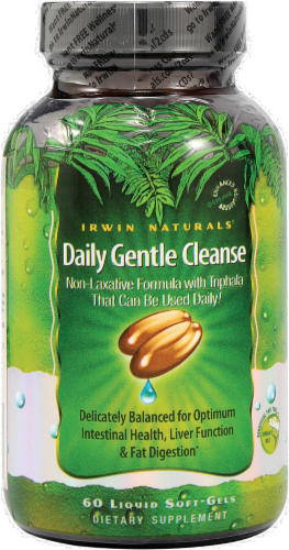 Irwin Naturals Daily Gentle Cleanse Perspective: front