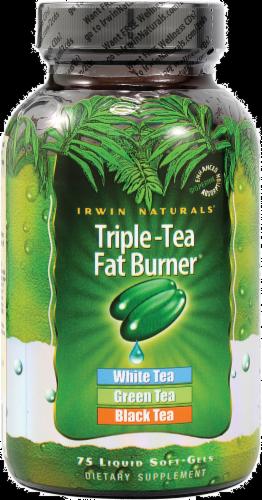 Irwin Naturals Triple Tea Fat Burner Perspective: front