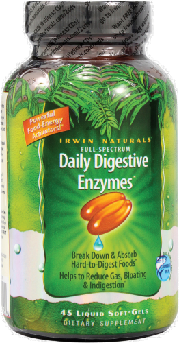Irwin Naturals Daily Digestive Enzymes Perspective: front