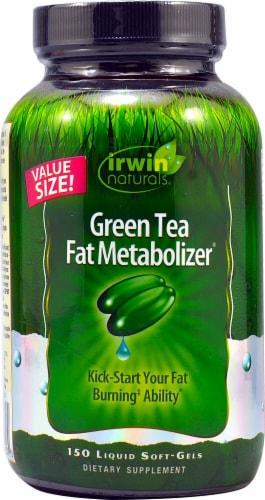Irwin Naturals  Green Tea Fat Metabolizer® Perspective: front