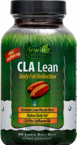 Irwin Naturals CLA Lean Body Fat Reduction Softgels Perspective: front