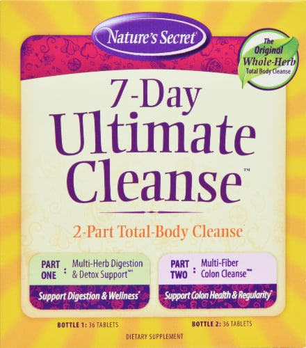 Natures Secret 7 Day Ultimate Cleanser By Irwin Perspective: front