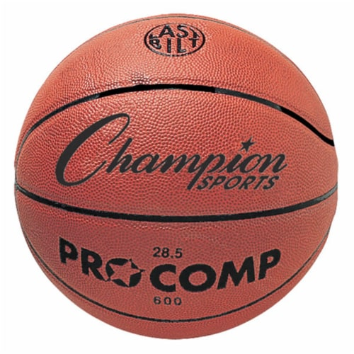 Champion Sports C600 28.5 in. Composite Game Basketball, Orange Perspective: front