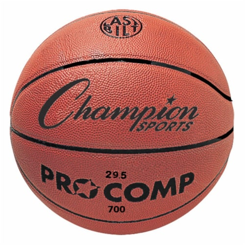 Champion Sports C700 29.5 in. Composite Game Basketball, Orange Perspective: front