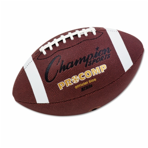Champion Sports Football,Size 11.5,Composite Cover HAWA CF100 Perspective: front