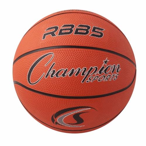 Basketball, Mini 7  diameter Perspective: front