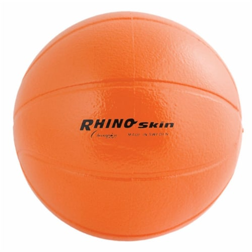 Champion Sports RS9 9 in. Rhino Skin Molded Foam Ball, Orange Perspective: front