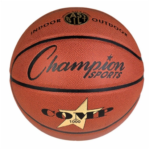 Cordley® Official Size Composite Basketball Perspective: front