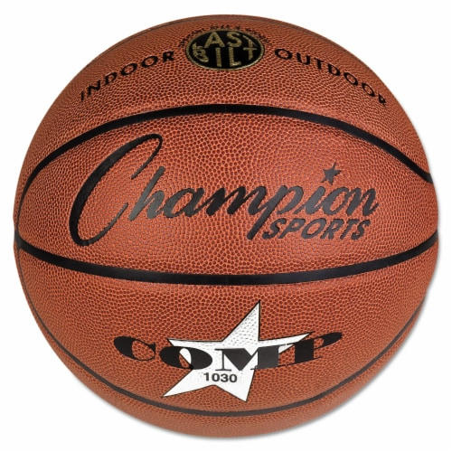 """Composite Basketball, Official Intermediate, 29"""", Brown SB1030 Perspective: front"""