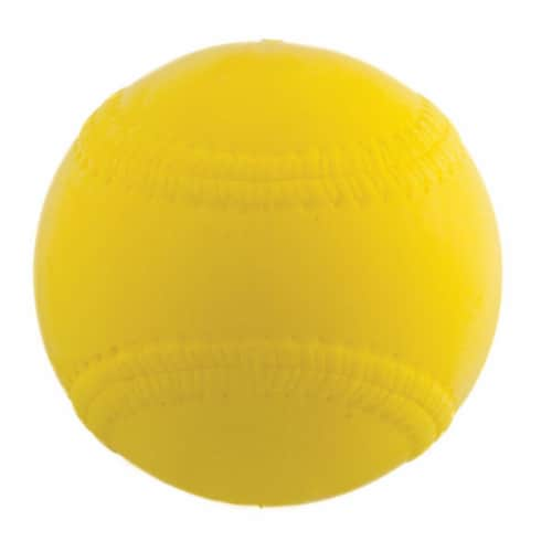 Champion Sports PMB9 9 in. Safety Pitching Machine Baseball, Optic Yellow - Pack of 12 Perspective: front