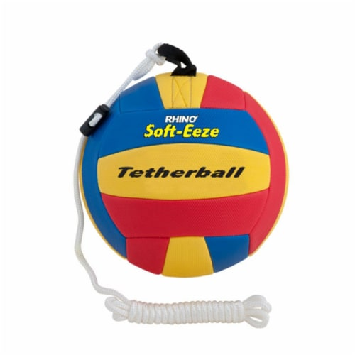 Champion Sports RSTB9 9 in. Rhino Soft Eeze Volleyball, Multicolor Perspective: front