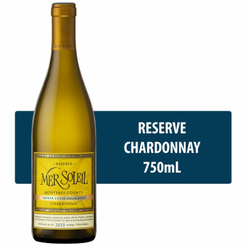 Mer Soleil Reserve Chardonnay White Wine Perspective: front