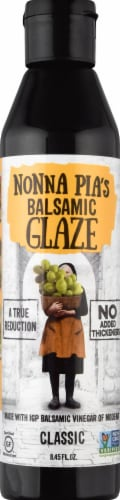 Nonna Pia's Balsamic Glaze - Classic Perspective: front
