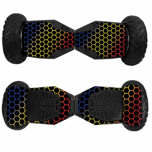MightySkins SWT6-Primary Honeycomb Skin for Swagtron T6 Off-Road Hoverboard - Primary Honeyco Perspective: front