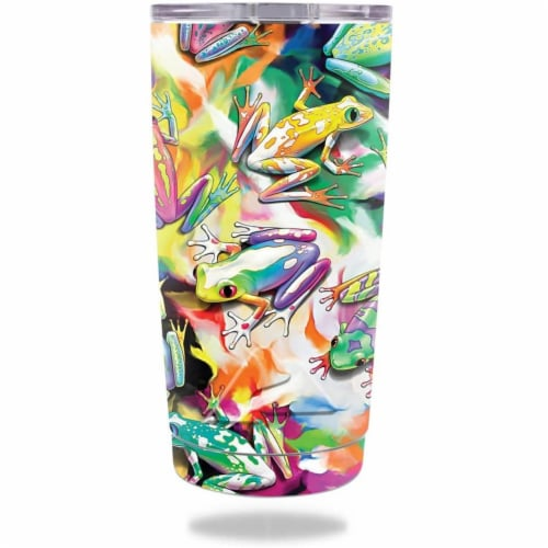 MightySkins OZTUM20-Wet Paint Skin for 20 oz 2016 Ozark Trail Tumbler, Wet Paint Perspective: front