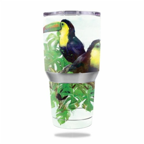 MightySkins OZTUM30-Toucan Friends Skin for Ozark Trail 30 oz Tumbler - Toucan Friends Perspective: front