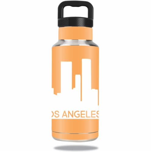 MightySkins OZBOT36-Los Angeles Skin for Ozark Trail 36 oz Water Bottle - Los Angeles Perspective: front