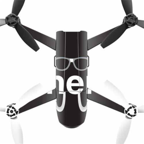 MightySkins PABEBOP2-Nerd Skin Decal Wrap for Parrot Bebop Quadcopter Drone - 2 Nerd Perspective: front