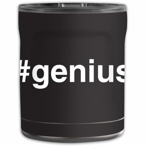 MightySkins OTEL10-Genius Skin for Otterbox Elevation Tumbler 10 oz - Genius Perspective: front