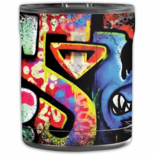MightySkins OTEL10-Loud Graffiti Skin for Otterbox Elevation Tumbler 10 oz - Loud Graffiti Perspective: front