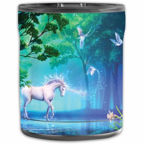 MightySkins OTEL10-Unicorn Fantasy Skin for Otterbox Elevation Tumbler 10 oz - Unicorn Fantas Perspective: front