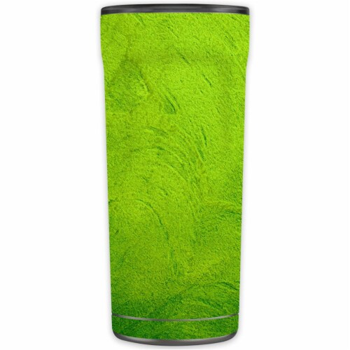 MightySkins OTEL20-Green Cement Skin for Otterbox Elevation Tumbler 20 oz - Green Cement Perspective: front