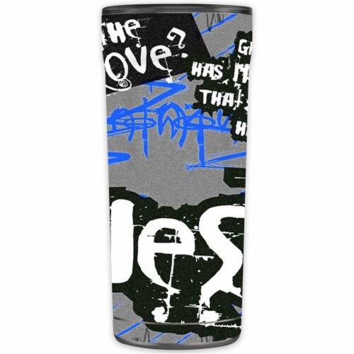 MightySkins OTEL20-Love Jesus Skin for Otterbox Elevation Tumbler 20 oz - Love Jesus Perspective: front
