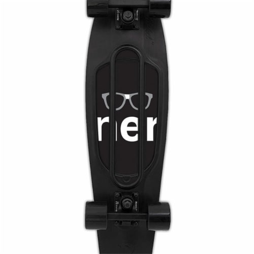 MightySkins PENNICK-Nerd Skin for Penny Nickel 27 in. Skateboard - Nerd Perspective: front