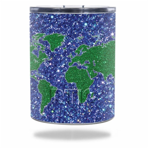 MightySkins RTLOW10-Bling World Skin for RTIC 10 oz Lowball 2016 - Bling World Perspective: front