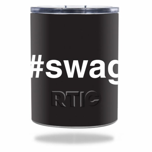 MightySkins RTLOW10-Swag Skin for RTIC 10 oz Lowball 2016 - Swag Perspective: front
