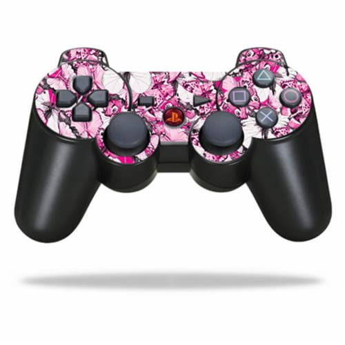 MightySkins SOPS3CO-Butterflies Skin for Sony PlayStation 3 PS3 Controller - Butterflies Perspective: front