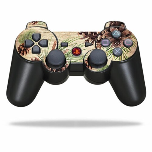 MightySkins SOPS3CO-Pine Collage Skin for Sony PlayStation 3 PS3 Controller - Pine Collage Perspective: front