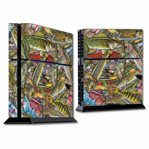 MightySkins SOPS4-Fish Puzzle Skin for Sony PS4 Console - Fish Puzzle Perspective: front