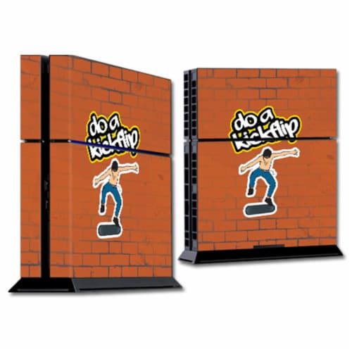 MightySkins SOPS4-Kickflip Skin for Sony Playstation PS4 Console - Kickflip Perspective: front