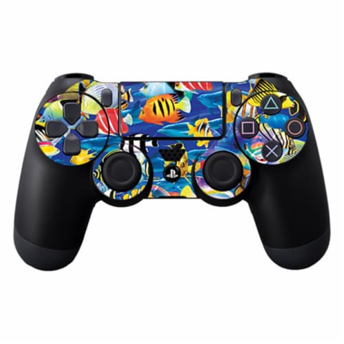MightySkins SOPS4CO-Tropical Fish Skin Decal Wrap for Sony Playstation Dualshock PS4 Controll Perspective: front