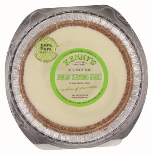 Kenny's All Natural Key Lime Pie Perspective: front