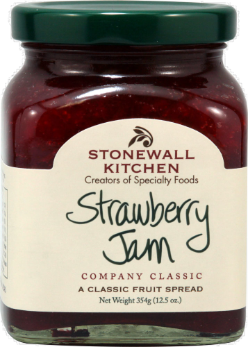 Stonewall Kitchen Strawberry Jam Perspective: front