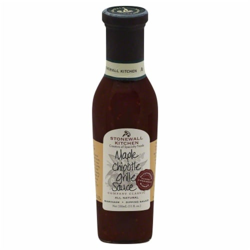 Stonewall Kitchen Maple Chipotle Grille Sauce Perspective: front