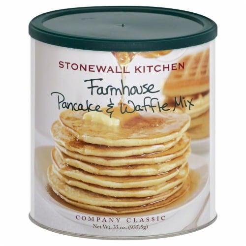 Stonewall Kitchen Farmhouse Pancake & Waffle Mix Perspective: front